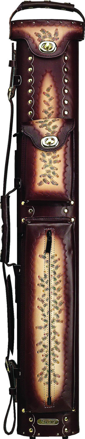 Instroke Saddle Series Leather Pool Cue Cases Ins24enr