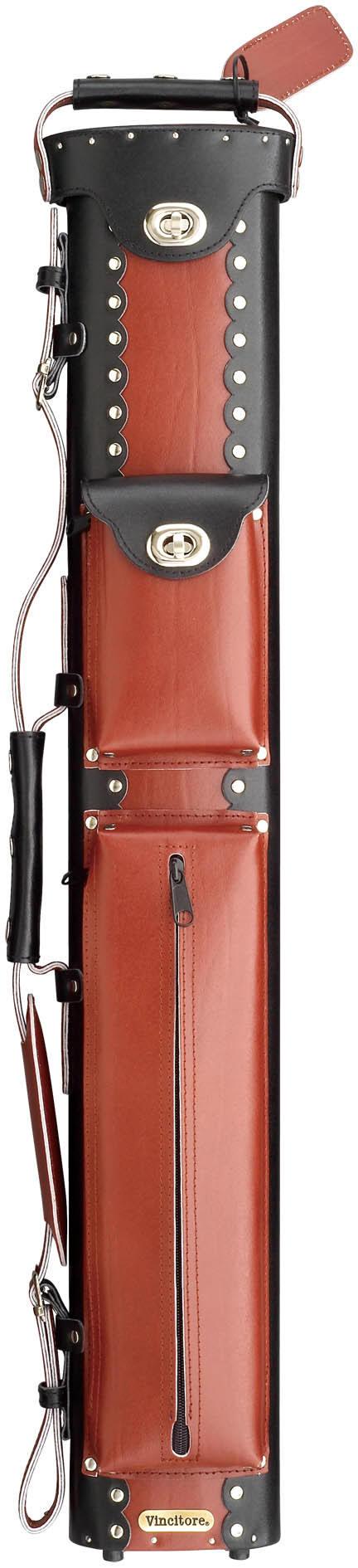 Vincitore Pool Cue Cases Lc35 Com Leather Cue Case
