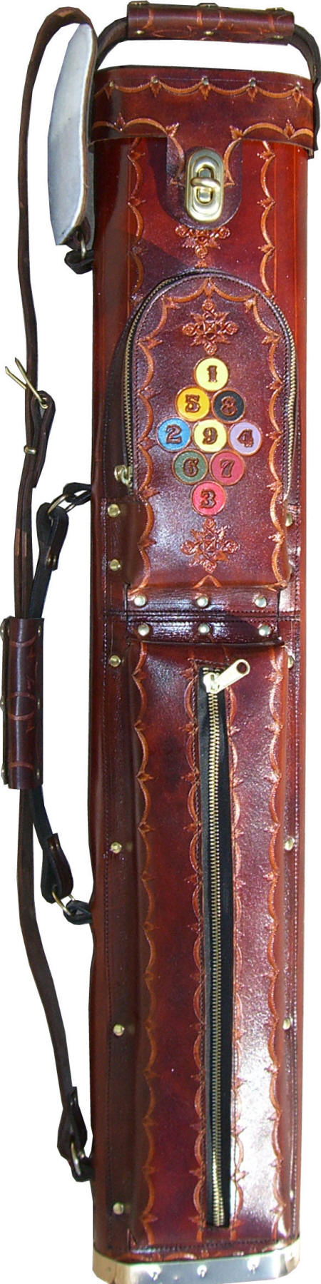 Widowmaker Brown Leather Cue Case