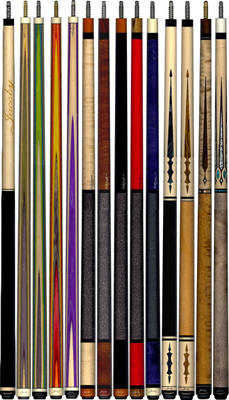 Jacoby Custom Pool Cue - Large Selection In Stock - Jacoby Edge Shafts