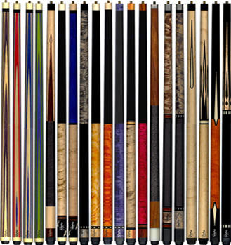 Ray Schuler Pool Cues and Billiard Cues Made in the USA