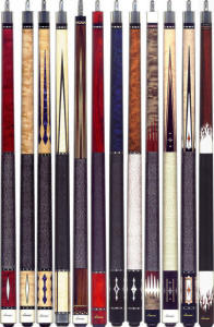 Lucasi Pool Cues With Lifetime Warranty