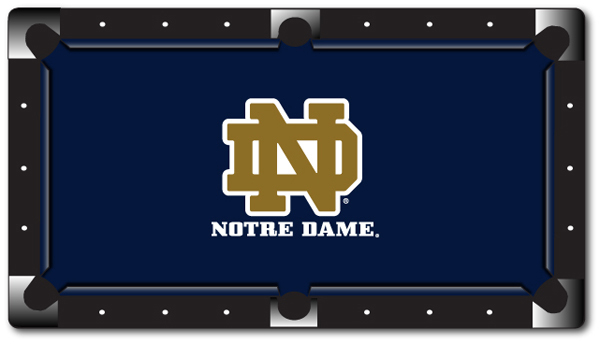 ... NCAA Pool Table Cloth ...
