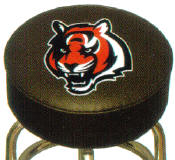 CINCINNNATI BENGALS BAR STOOL