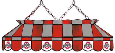 "40"" Full-size Pool Table Lamp - Ohio State"