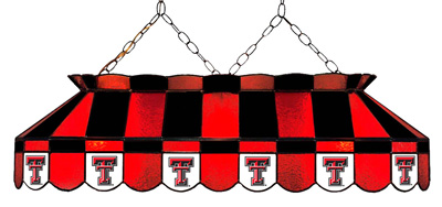 "40"" Full-size Pool Table Lamp - Texas Tech"