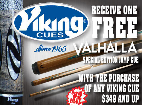 Viking Pool Cue Special