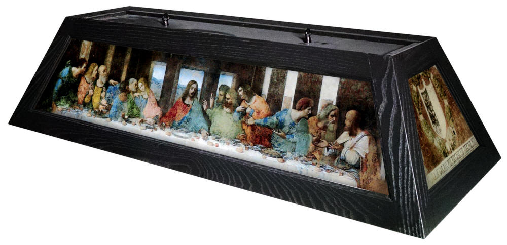 The Last Supper Billiard Light By Bourbon Street Light Works