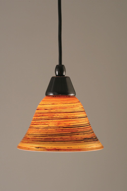 Copper mini pendant light