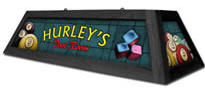 Personalized Pool Table Light