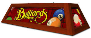 Classic Red Billiard Light