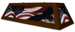 Patriot Pool Table Lights