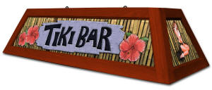 Tiki Bar Billiard Light